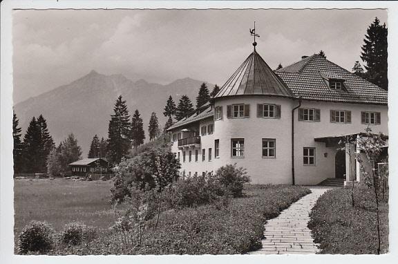 Garmisch partenkirchen vogelschutzwarte gel 1963 typische for Architektur ns zeit