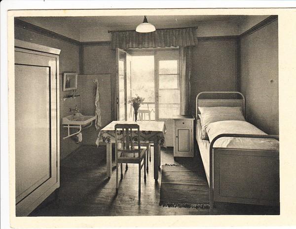 m nchen ramersdorf heim f r erwerbst tige frauen und m dchen gel 1936 ortsporto innen abgerissen. Black Bedroom Furniture Sets. Home Design Ideas