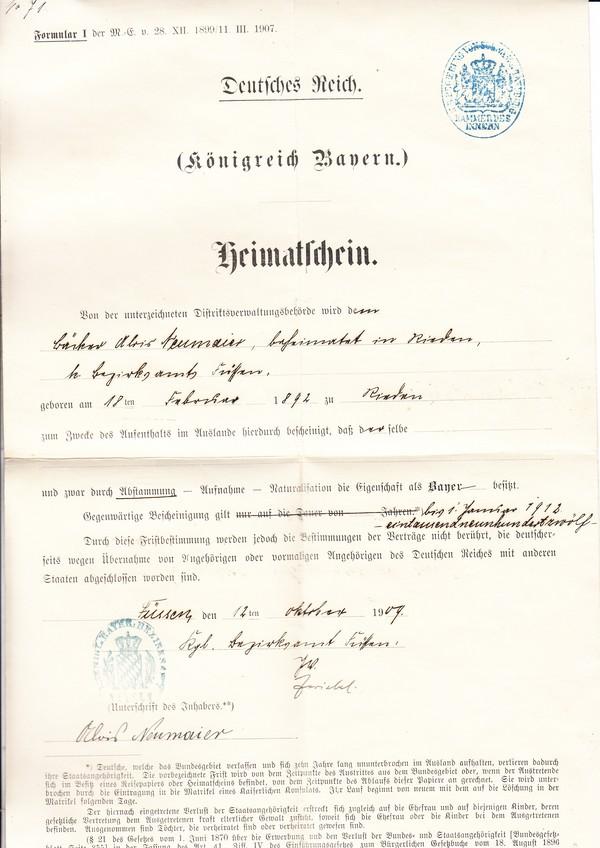 Polizeiliches Führungszeugnis Lübeck