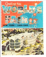 2 AK World Fair New York 1964/65, 1x gel.