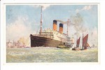 "White Star Line: ""S.S. Arabic"" 1923 ab Hamburg"