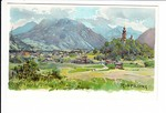 Ruhpolding, Compton-Litho, gel. 1933, Marke ab sonst i.O.