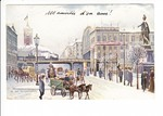 Berlin, nette Winter-Alex-AK als Ortsporto Charlottenburg - Berlin 1903